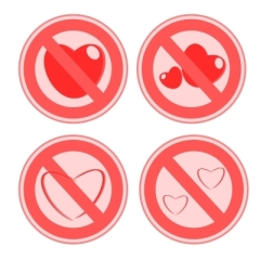 Miss E hates Valentine's Day